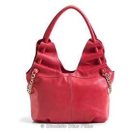 Female red purse
