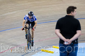 Junior Men Individual Pursuit Final. Canadian Track Championships (U17/Junior/Para), March 31, 2017