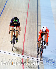 Junior Men Sprint 3-4 Final. Track O-Cup #2, Milton, On, March 28, 2015