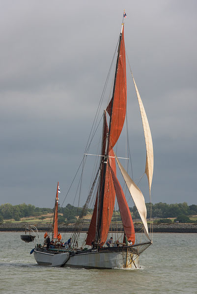 Thames sailing barge Xylonite
