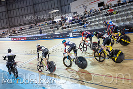 Cat 1-2 Men Keirin 1-6 Final. Track Ontario Cup #2, January 13, 2019