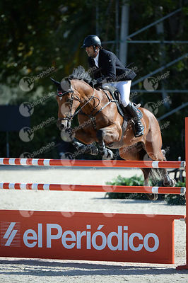Karim ELZOGHBY ,(EGY), ZARCO during Coca-Cola Trofey competition at CSIO5* Barcelona at Real Club de Polo, Barcelona - Spain
