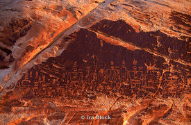 Anasazi pictographs from Utah