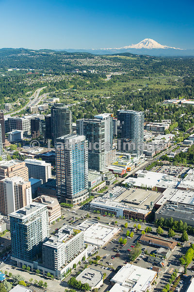 downtown; Bellevue, WA