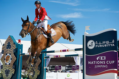 LANSINK Jos, (BEL) ENSOR DE LITRANGE LXII during Furusiyya FEI Nations Cup competition at CSIO5* Sopot at Hipodrom, Sopot - Poland
