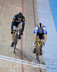 Men Sprint 1-2 Final. Canadian Track Championships, Mattamy National Cycling Centre, Milton, On, September 25, 2016