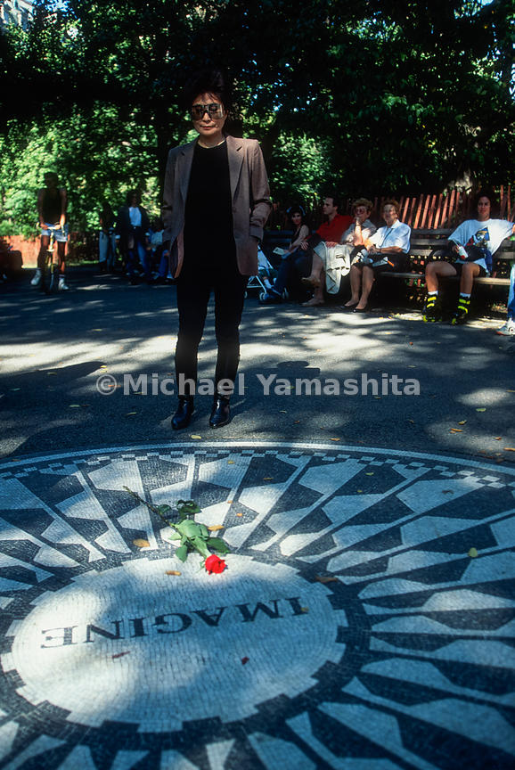 Yoko Ono.Strawberry Fields.New York City, NY