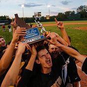 Baseball: Capital vs. Eagle (5A Championship) 5/17/14 photos