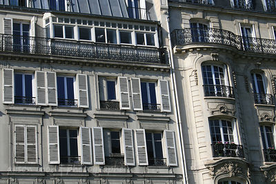 Architectural detail, Paris, France