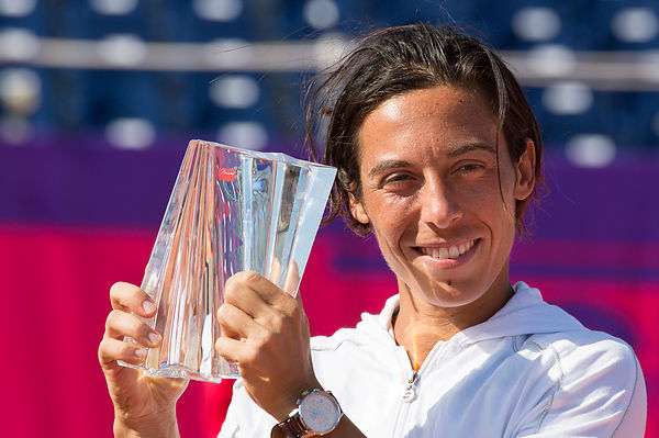 STRASBOURG: WTA International Tennis Tournament finals Schiavone vs Cornet