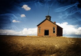 Klonkike_schoolhouse_magical