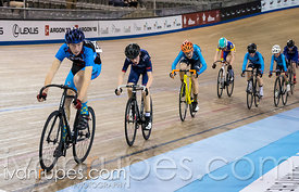 U15 Men Scratch Race. Ontario Track Championships, March 2, 2018