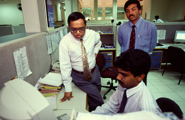 Narayana Murthi, chairman of India software firm Infosys Technologies