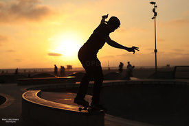 Skatepark, Venice Beach, Los Angeles
