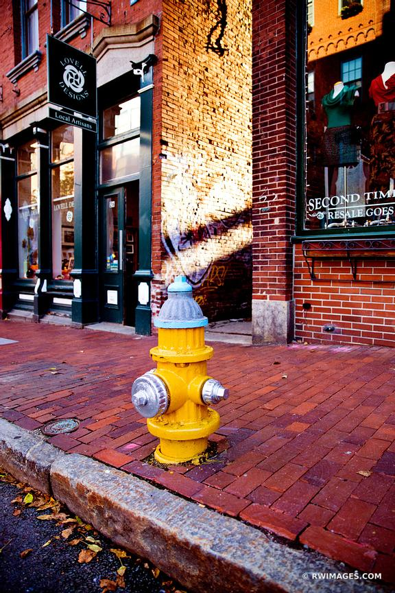 HYDRANT DOWNTOWN PORTLAND MAINE