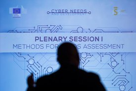 23 Feb 2015 - Brussels, Belgium - International Conference on Cyber Needs and Development. © Bernal Revert