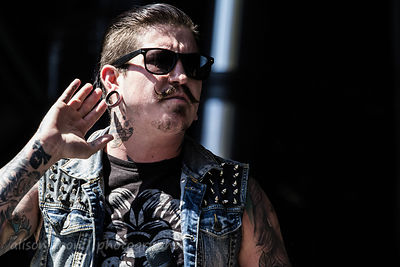 Craig Mabbitt, Escape the Fate, Aftershock 2014