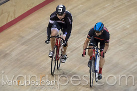 Master B Men Sprint 3-4 Final. Canadian Track Championships, Mattamy National Cycling Centre, Milton, On, September 25, 2016