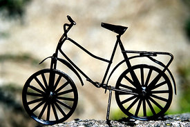 Miniature bicycle, France