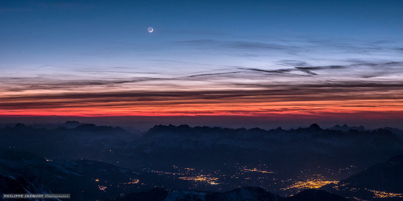 Conjunction at the summit (bis) - Chamonix Mont-Blanc