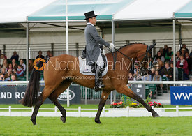 Sam Griffiths and PAULANK BROCKAGH - Burghley 2015