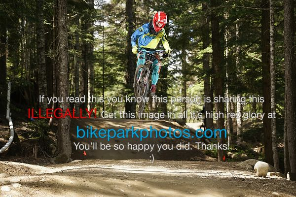 Tuesday June 26th - ALine Double bike park photos