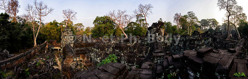 Cambodge, Site d'Angkor classé au Patrimoine Mondial de l'UNESCO, temple du Preah Khan d'Angkor, construit en 1191 par le roi Jayavarman VII ,//Cambodia, Angkor on World Heritage list of UNESCO, Preah Khan of Angkor, built in 1191by King Jayavarman VII