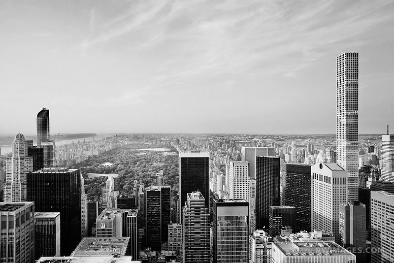 MANHATTAN CENTRAL PARK NEW YORK CITY BLACK AND WHITE