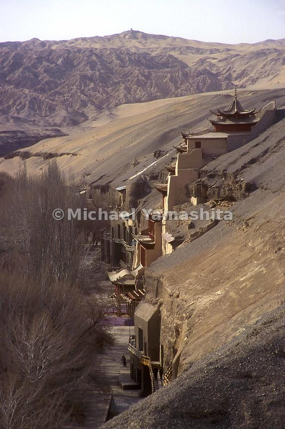 Mogao oasis was 'rediscovered' in the early twentieth century.