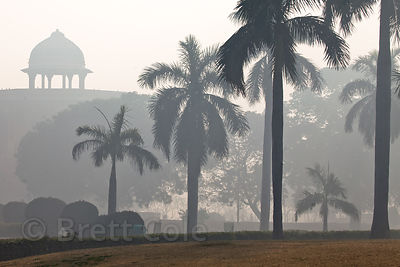 Early morning at Purana Qila (old fort), Delhi, India