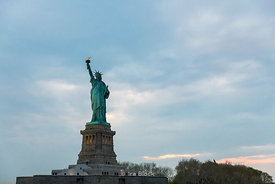 Statue of Liberty in New York.