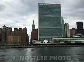The headquarters of the United Nation