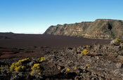 View over Plaine des Sables, Piton de la Fournaise, Reunion