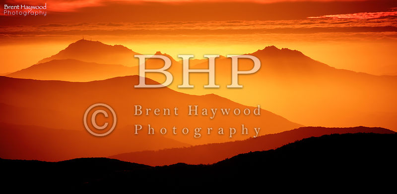 Mountain Landscape Photography Sunset