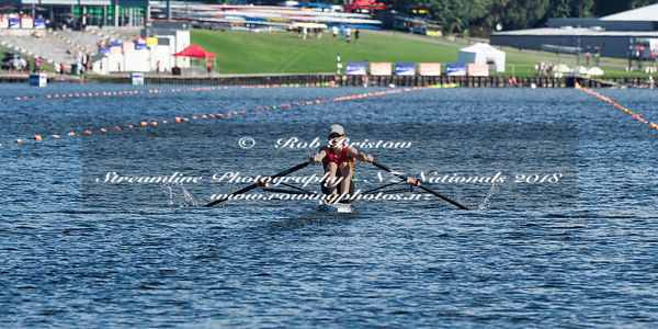 Taken during the National Championships 2018, Lake Karapiro, Cambridge, New Zealand; ©  Rob Bristow; Frame 0841 - Taken on: Thursday - 15/02/2018-  at 09:25.50