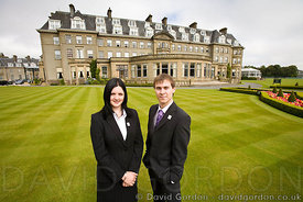WorldSkills duo meet Ministers at Gleneagles