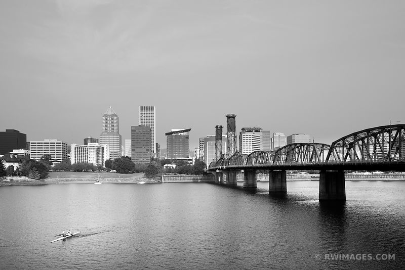 Portland Oregon - Black and White Photos Images Fine Art Prints Stock Photos Color & Black and White Pictures Framed Canvas Metal Acrylic Prints Interior Designer Art Consultant Large Wall Decor Art Source