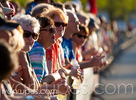 Spectators at Grand Prix Cycliste de Saguenay, Stage 3, Saguenay, Qc, June 7, 2014