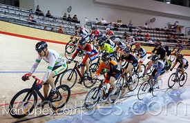 Master B men Scratch Race, Ontario Track Championships, Day 1, April 10, 2015