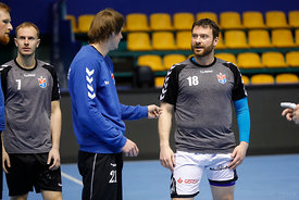 Rastko Stojkovic during the Final Tournament - Final Four - SEHA - Gazprom league, Team training in Brest, Belarus, 06.04.2017, Mandatory Credit ©SEHA/ Stanko Gruden