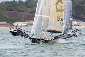 Be Light, HUN 18, 18ft Skiff, Euro Grand Prix Sandbanks 2016, 20160904191
