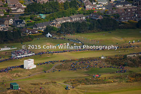 Aerial photographs for Irish Open 2015