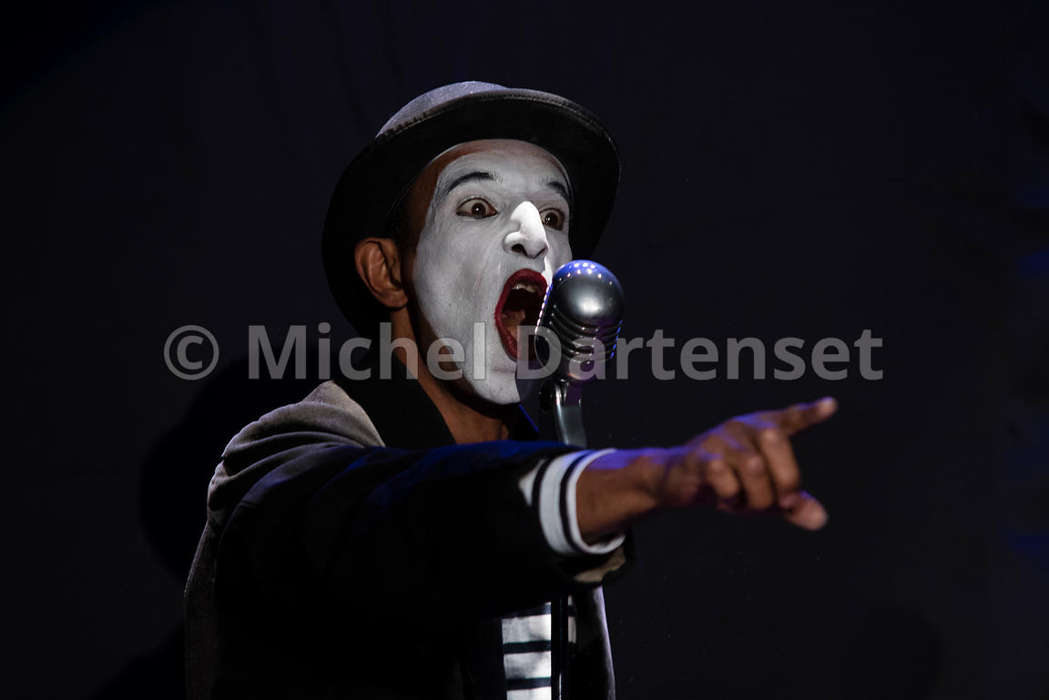 Spectacle du mime Malou