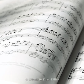 Score of Classical Music.