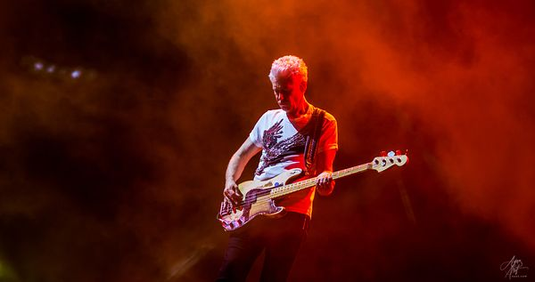 Adam Clayton - FedEx Field in Landover, Maryland
