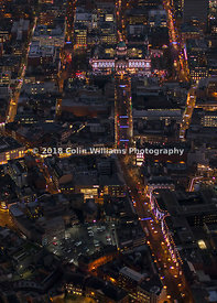 Aerial photograph - BELFAST AT NIGHT