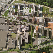 Rozzano aerial photos