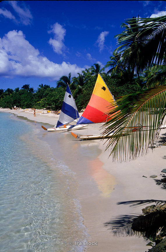 sail boats on beach