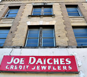 Joe Daiches Credit Jewelers Building in downtown Ft. Worth