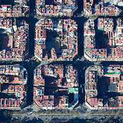 Eixample aerial photos